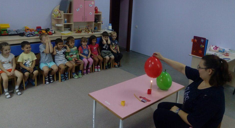 Занимательная наука в частном детском саду Мамочки на СЖМ и ЗЖМ в Ростове