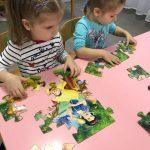 Пазлы – любимое занятие деток средней группы